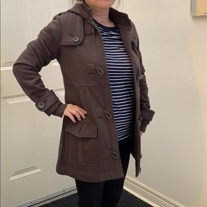 Brown jacket with Zipper